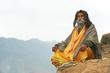 Indian monk sadhu - 44220713
