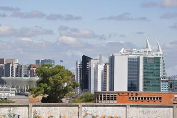 Blick auf das Expogelände von Lissabon