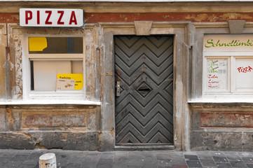 Abandoned pizzeria