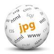 Kugel, JPG, Bildformat, Format, Internet, Grafik, Illustration