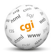 Kugel, CGI, Webserver, Gateway, Software, serverseitig, Server