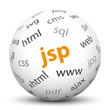 Kugel, JSP, Java Server Pages, Technologie, Web, Internet, Perle