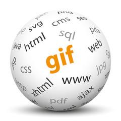 Kugel, GIF, Bildformat, Format, Internet, Web, Endung, Grafik