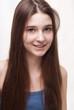 Portrait of a cheerful girl o
