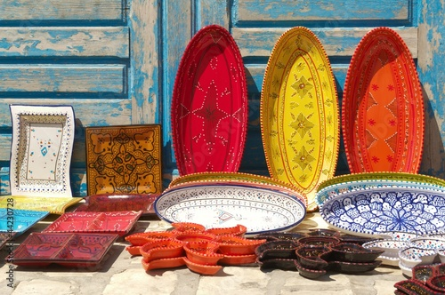 Foto op Aluminium Tunesië céramique tunisie