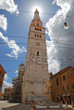 Italy, the Ghirlandina bell tower of the Modena cathedral.