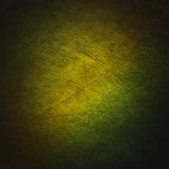 Grunge Background With Green Gradient