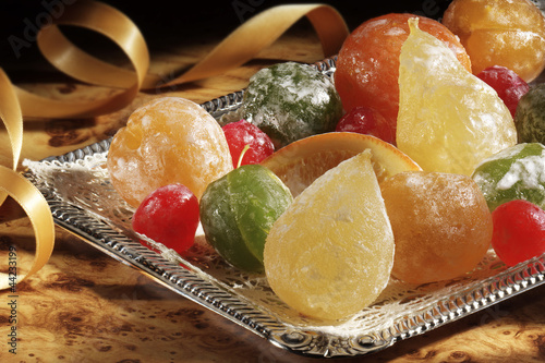 candied fuits