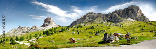 Leinwandbild Motiv Dolomiti - Alpi