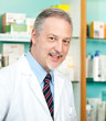 Smiling pharmacist