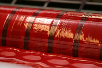 Offsetdruck Rot