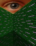 Cyber Stalking Spyware Eye poster