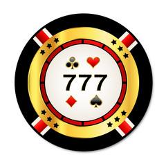 777. Casino chip