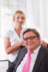 Erfolgreiches Unternehmerpaar