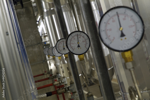 particolare impianto industriale