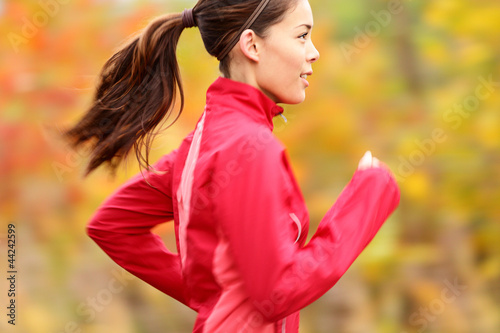 Running in Fall