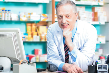 Pharmacist portrait