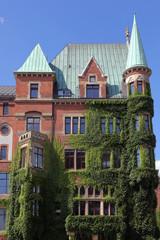 altes Wohnhaus in der Speicherstadt, Hamburg