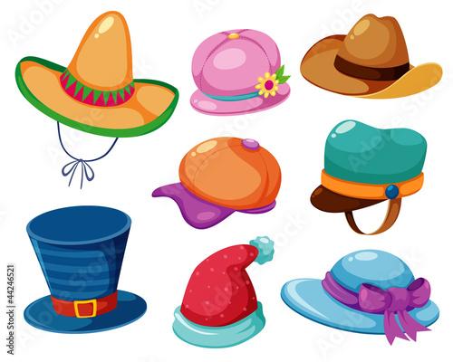 Hat vector set