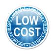 Pegatina LOW COST