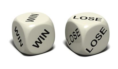 dice_WIN LOSE