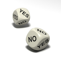 dice_YES NO