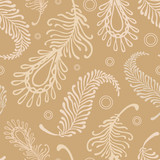 retro-feater-pale-pattern poster