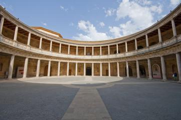 La Alhambra de Granada, Charles the 5th palace
