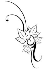 edera tatuaggio tribale