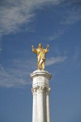 Imagen de Cristo en Fátima, Portugal