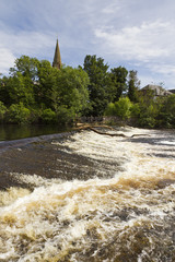 Blairgowrie and the River Ericht