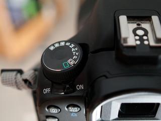 Molette d'appareil photo
