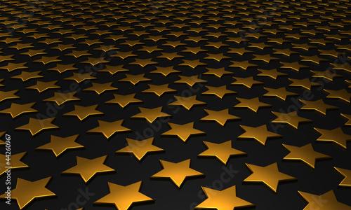 Sternen Matrix Hintergrund - gold schwarz 4