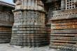Hoysaleshwara-Tempel in Halebid, Südindien