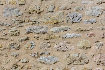 Motif mur de pierre