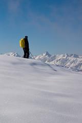 Winterwanderung in den Begen