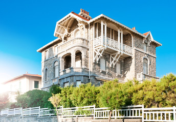 Elegant old house in Biarritz