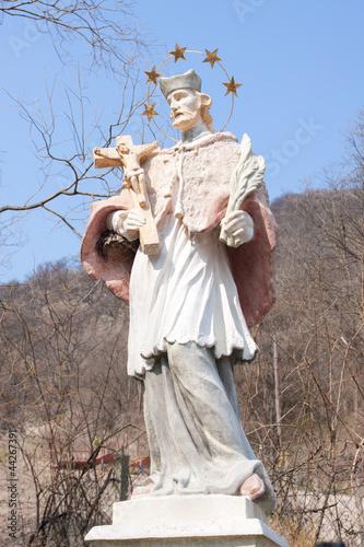 Heiligenstatue Nepomuk / Wien