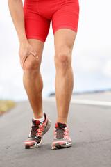 Knee pain - running sport injury