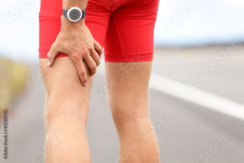 Hamstring sprain or cramps