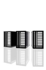 Varios servidores informáticos