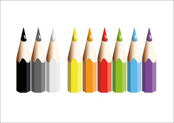 Les crayons de la rentrée