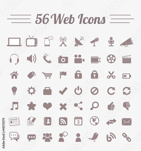 56 Web Icons