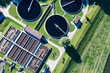 aerial view of sewage treatment plant - 44271757