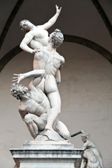 """""""The Rape of the Sabine Women"""" by Giambologna"""