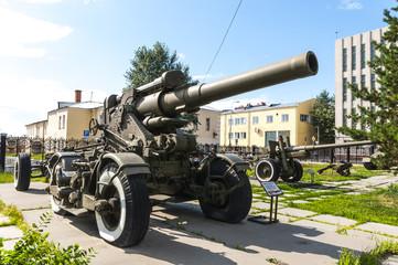 Советские пушки времён второй мировой войны.