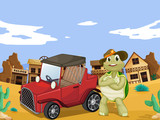 tortoise and car