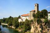 St. Pietro and St.Biagio church, Cividale del Friuli - Italy poster