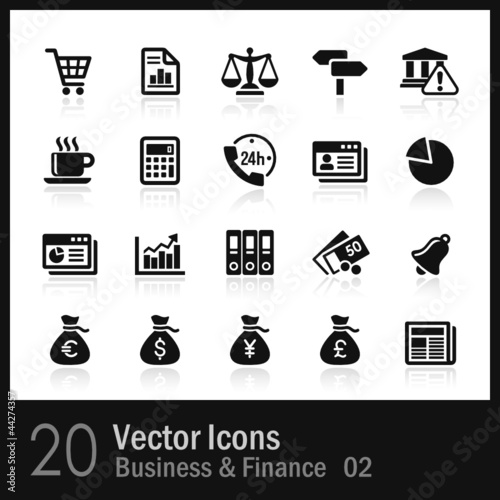 20 Business & Finance Icons
