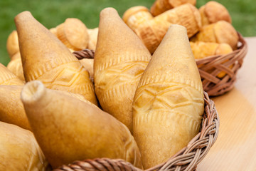 famous Polish cheese of Tatra region